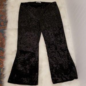 NWOT Bailey 44 Black Velvety Pants
